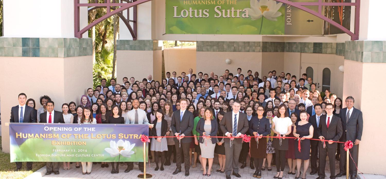 New Lotus Sutra Exhibit