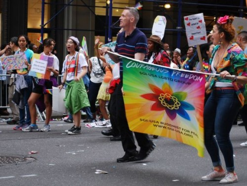 Courageous Freedom Group - New York Pride Parade 2015